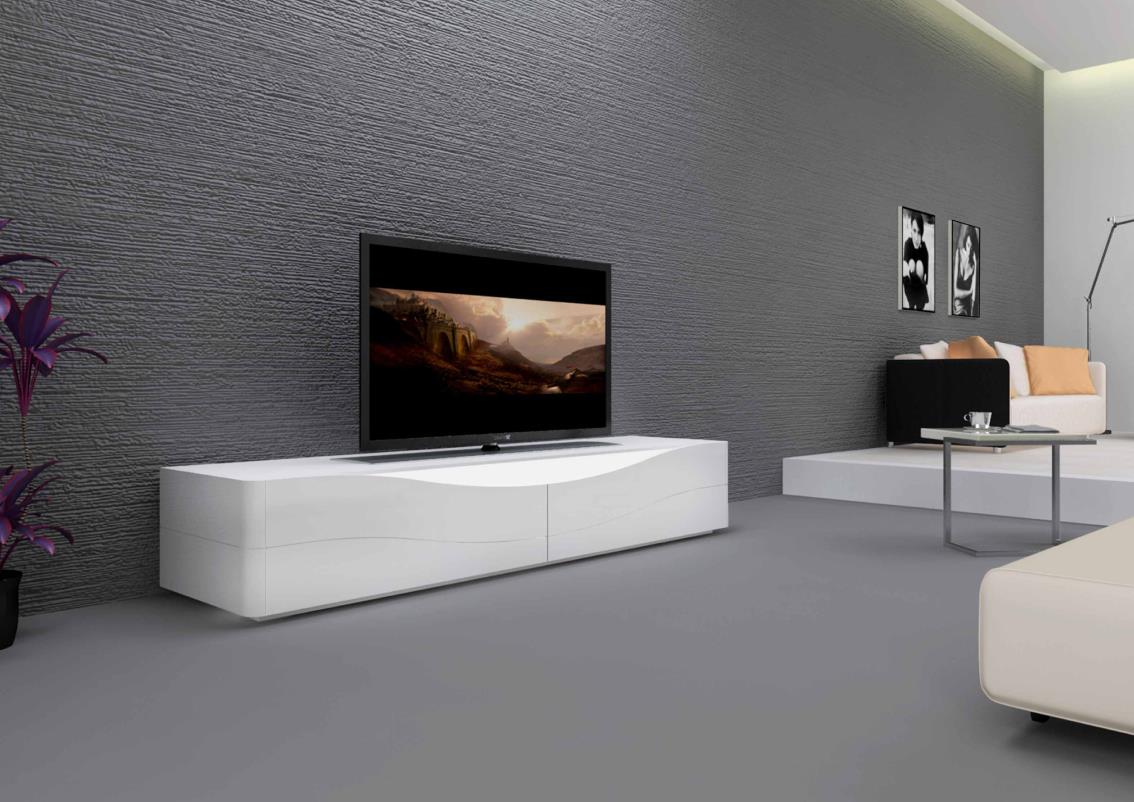 Meuble Tv Bas Et Long Design Meuble Tv Bas Contemporain