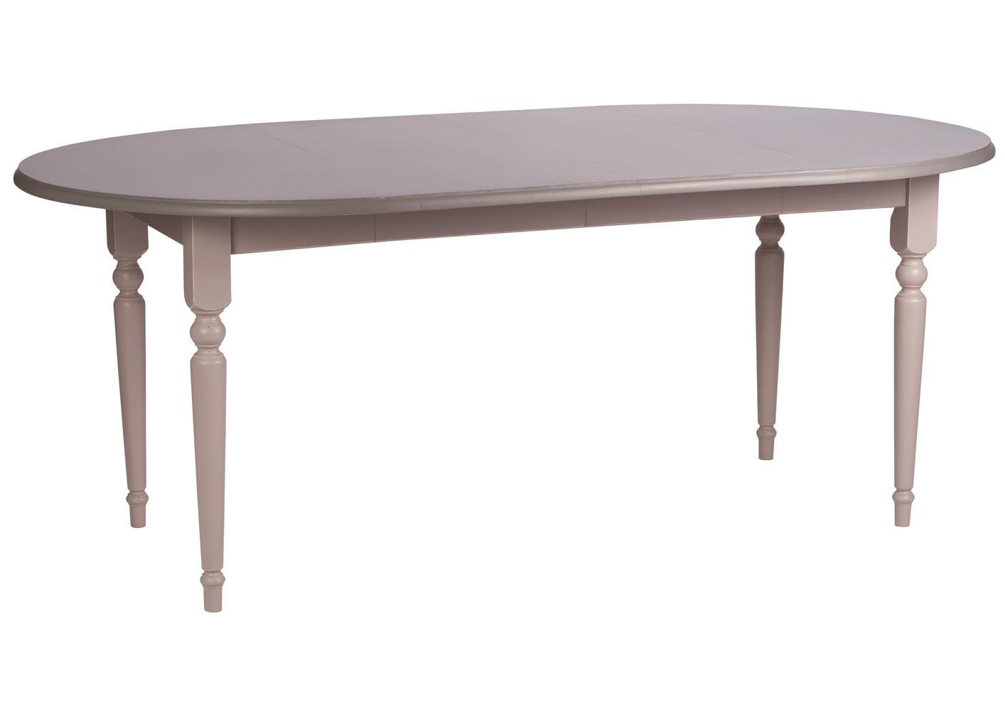 Table Arrondie Table Ronde Style Anglais Pin Massif Pieds Travaillés