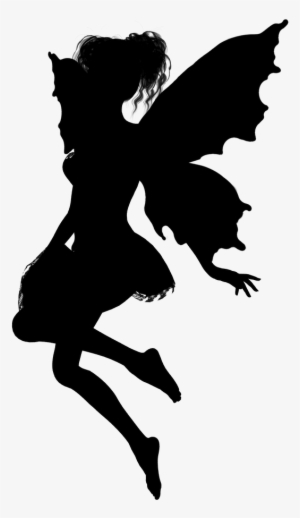 Fairy Silhouette PNG  Download Transparent Fairy Silhouette PNG