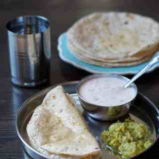 Here's a step by step tutorial on how to make soft and fluffy Rotis or Chapatis every time!