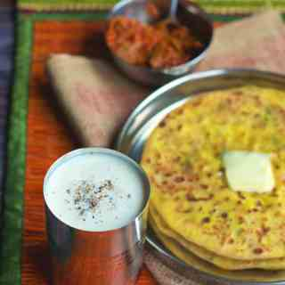 Sweet Lassi is a yogurt based drink which serves a perfect refreshment during hot summers.