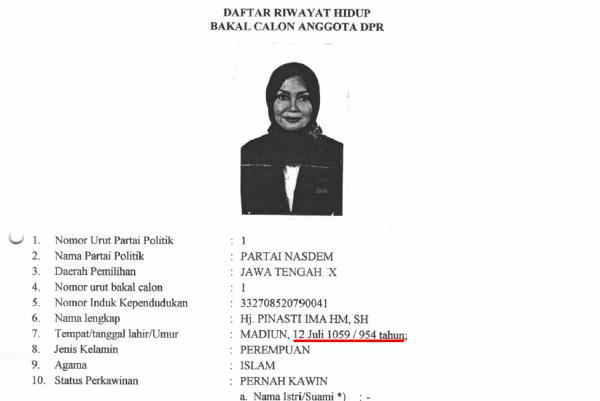 Cpns Tahun 2013 Jawa Tengah Formasi Cpns Jawa Tengah 2013 Berbagi Beragam Informasi Nasdem Jawa Tengah Daftarkan Caleg Wanita Berusia 954 Tahun Si Momot