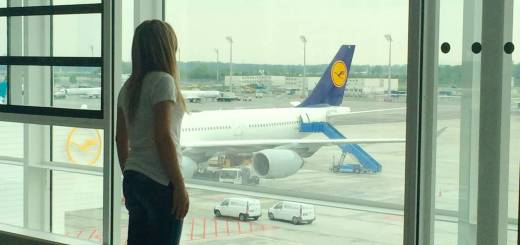 Travelling with Lufthansa towards Denver