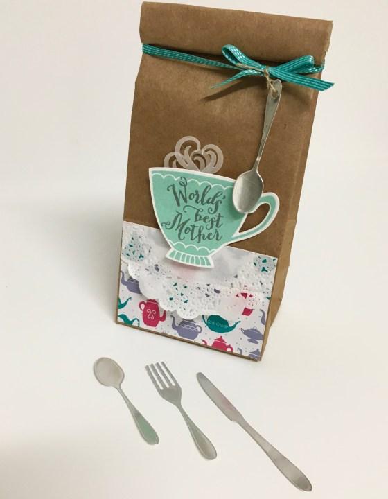 Cups & Kettle Framelits - Treat Bag. www.simonebartrum.com