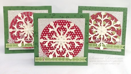 Snowflake cards