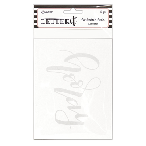 Ranger CELEBRATION Letter It Sentiment Pack lea65265 at Simon Says