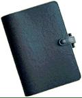 Filofax leather notebook