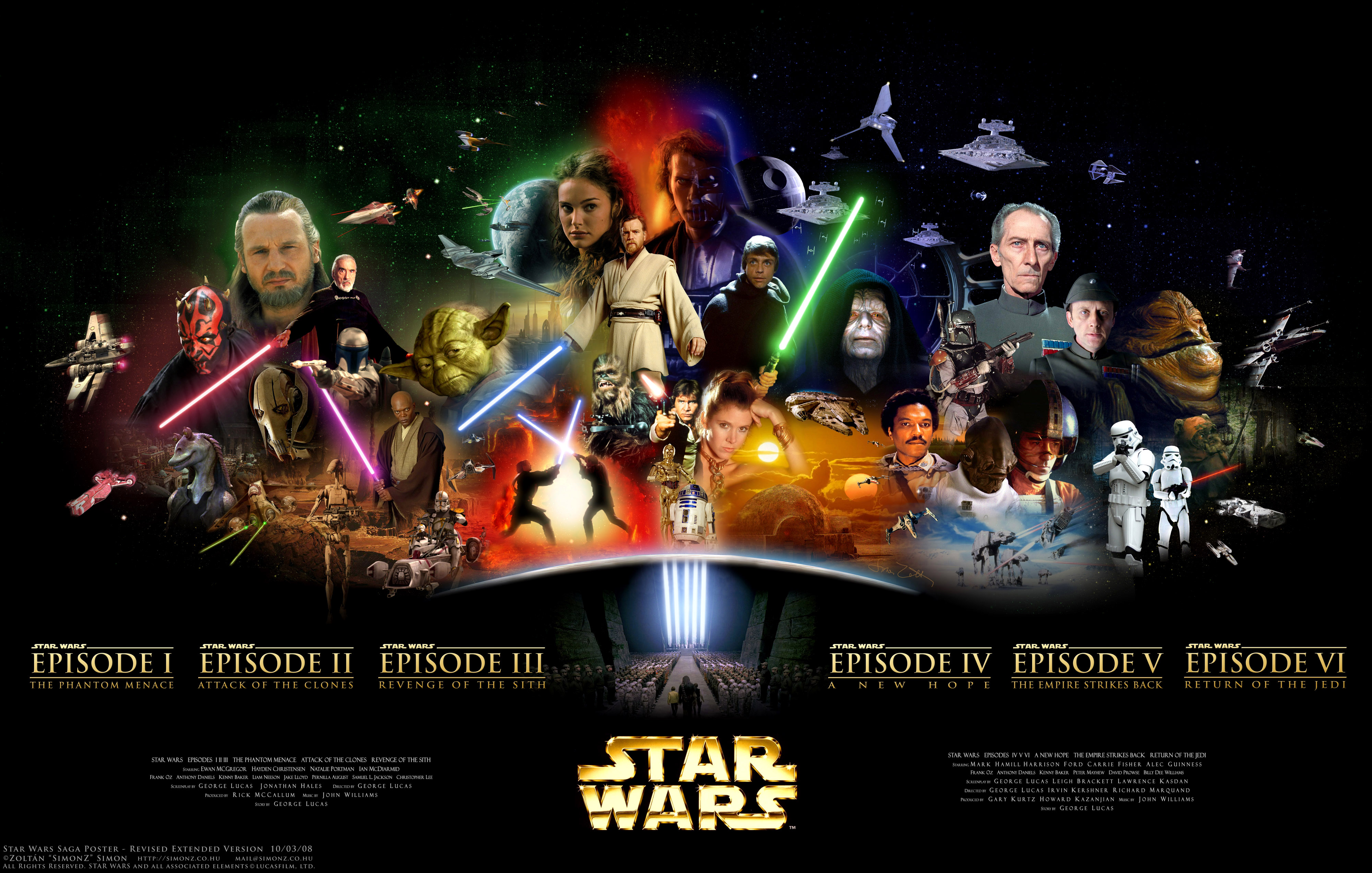 Star Wars Poster Simonz 39s Home Page Star Wars Wallpapers Posters Cover