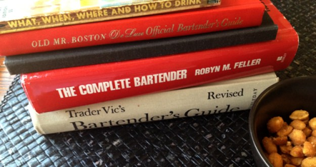 thrift shop cocktail books