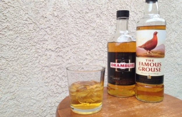 Drambuie Famous Grouse Rusty Nail