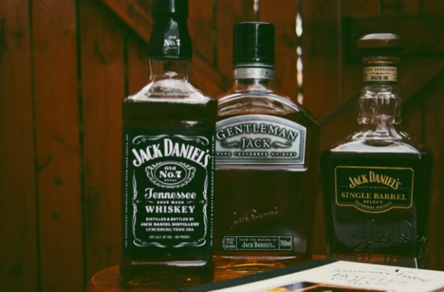 jack daniel's whiskies