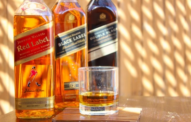johnnie walker bottles product line