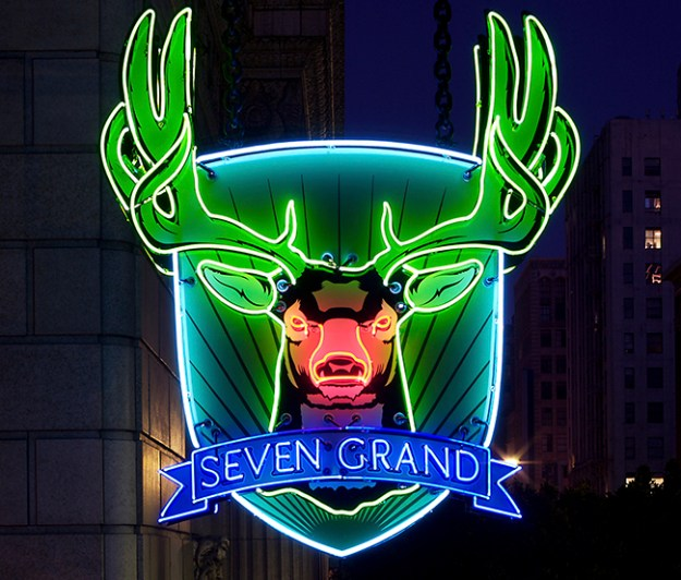 Seven Grand - Sign
