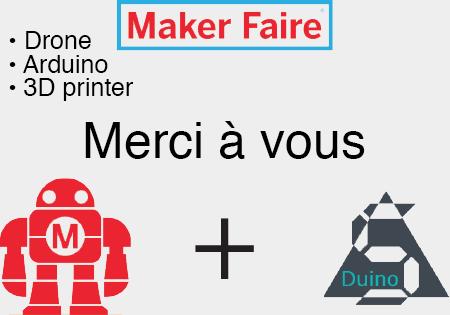 Image de une de l'article mise au point suivant la Maker Faire Paris 2016