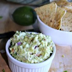 Goat Cheese Guacamole Simpleandsavory.com