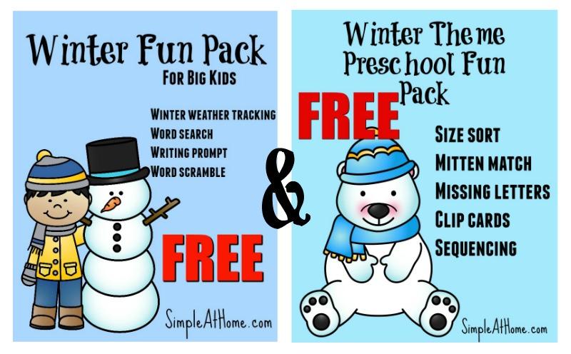Free Winter Educational Fun