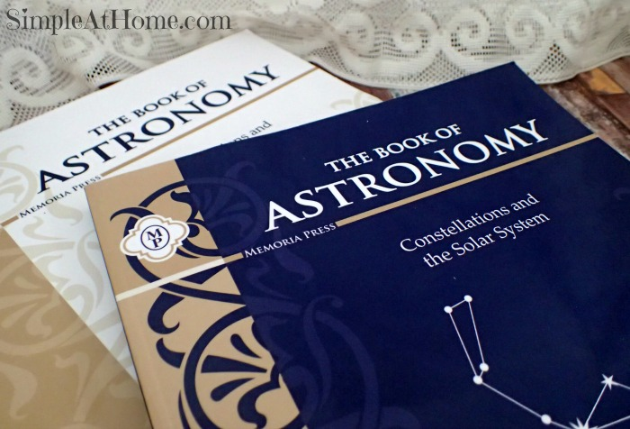 Astronomy Curriculum from Memoria Press Review