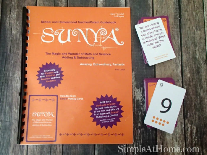 Math and Science Card Game From Sunya – Review