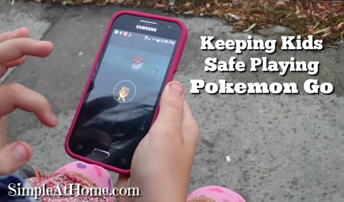 Keeping Kids Safe While Playing Pokemon Go