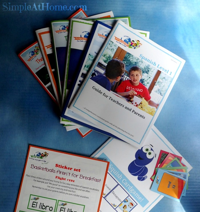 Spanish for kids by kids