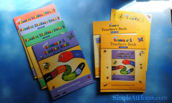 Jolly Literacy Phonics and Grammar Review
