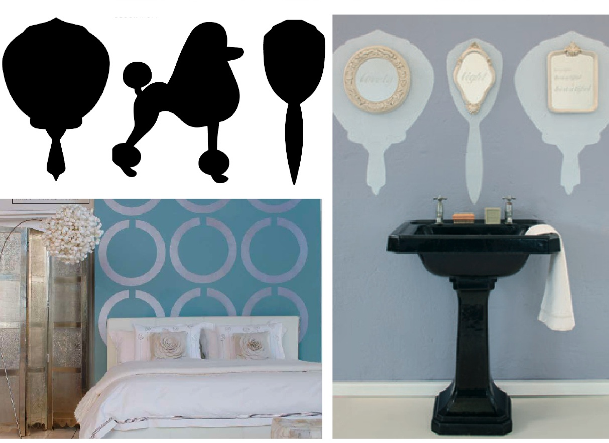 Elle Decoration South Africa Free Stencils Simple Blueprint