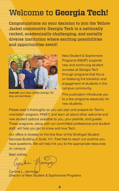 2017 First Year Welcome Booklet : simplebooklet.com