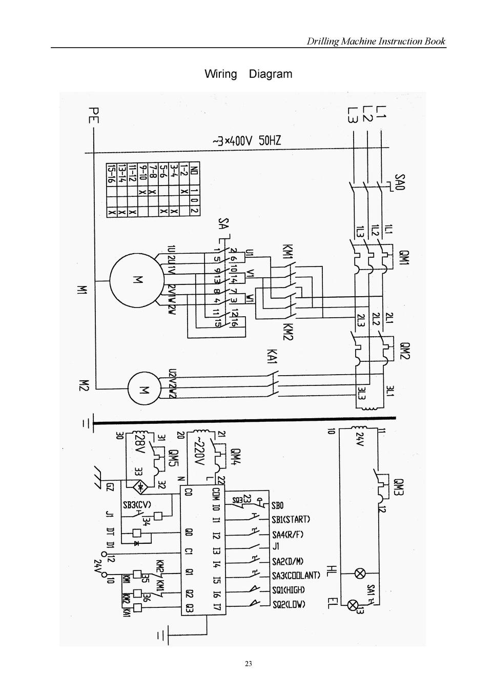 magnetic chuck wiring diagram