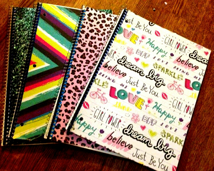 Back To School Diy Notebooks Covers Simplecasa