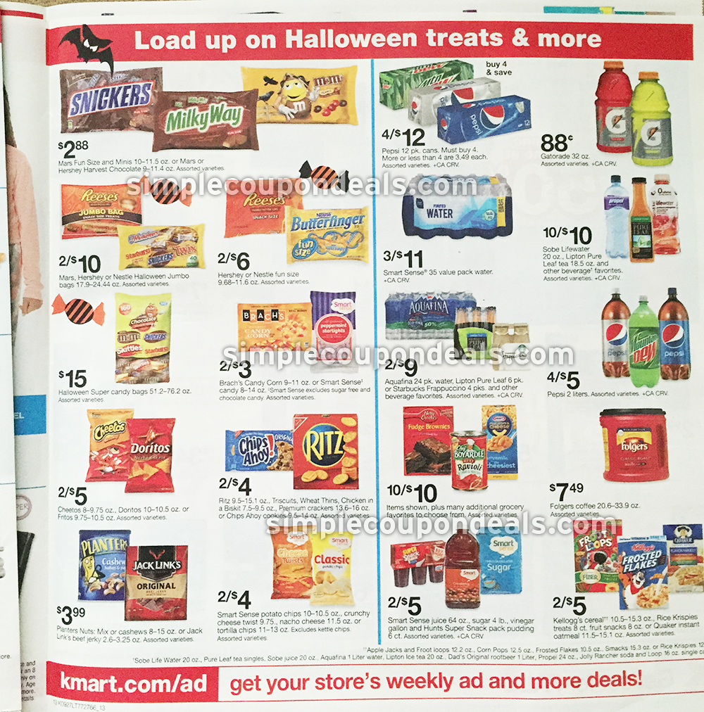 Kmart Coupons Ad Preview Kmart Double Coupons Up To 2 Week Of 9 27 10 3 15