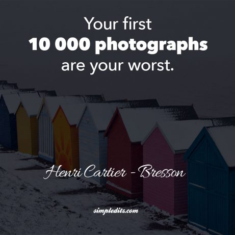 10 Photography Quotes that will inspire you + Instagram PSD template - photography quote