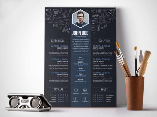 34 Best Modern Design Resume Templates - SimpleFreeThemes