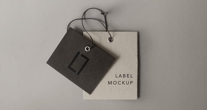 psd label brand mockup vol6