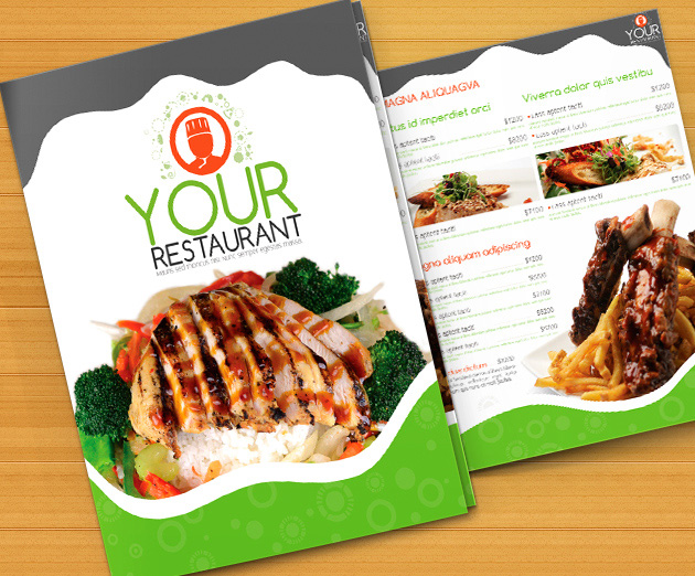 Top 31 Free PSD Restaurant Menu Templates 2018 - SimpleFreeThemes - free food menu template