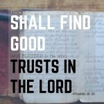 He who gives attention to the Word shall find goodhellip