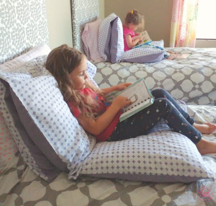 pillow pallet for kids - a super simple, super comfy project to make for the kids' rooms