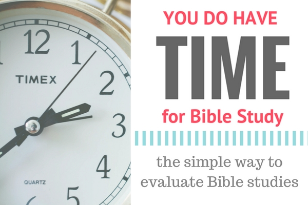the simple way to evaluate Bible studies