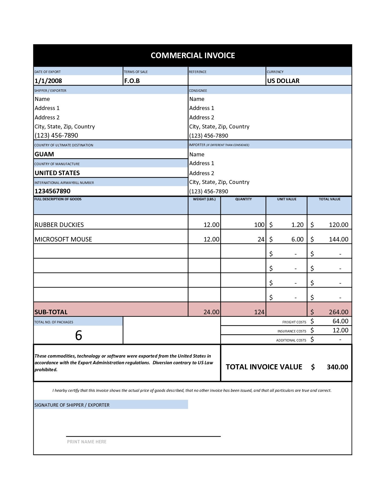 384 Free Invoice Templates For Excel Painting Invoice Sample Invoice Template Ideas