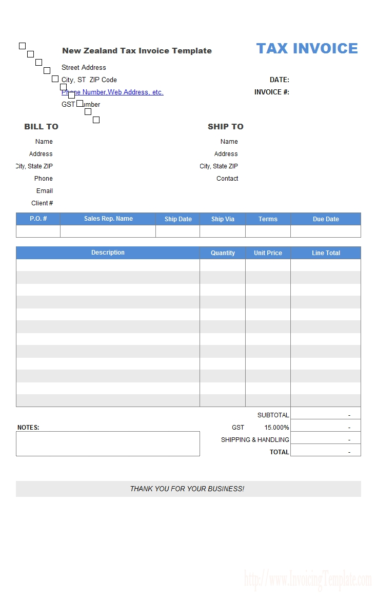 Proforma Invoice What Is A Proforma Invoice And Why Use One Tax Invoice Nz Invoice Template Ideas