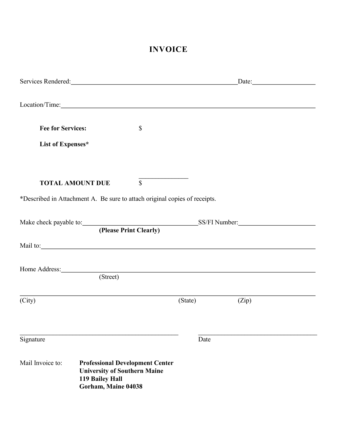 Blank Invoice Template 46 Documents In Word Excel Pdf Template For Invoice For Services Rendered Invoice