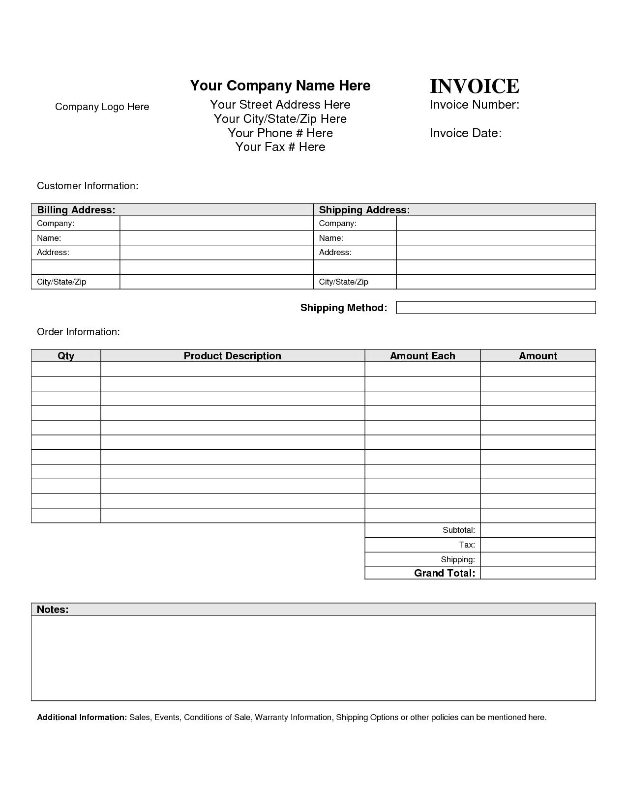 Blank Spreadsheet Template 21 Free Word Excel Pdf Official Invoice Template Invoice Template Ideas