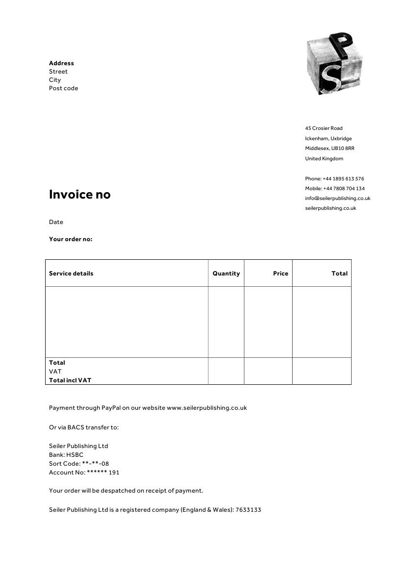 Customize Your Quickbooks Invoices Jameshbyrd Limited Company Invoice Template Invoice Template Ideas