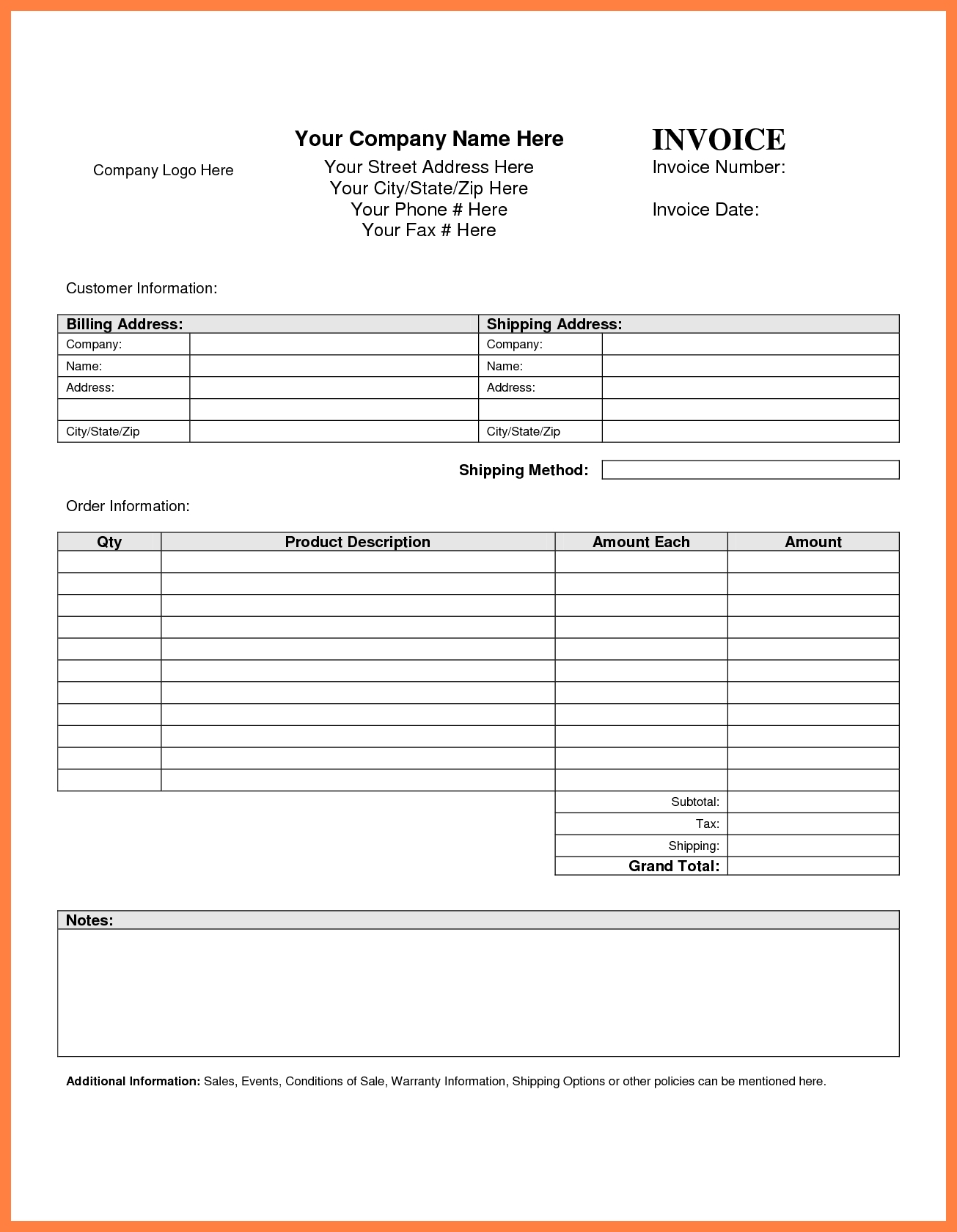 google drive templates invoice | cover letter samples, Invoice templates