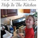 How Children Can Help In The Kitchen