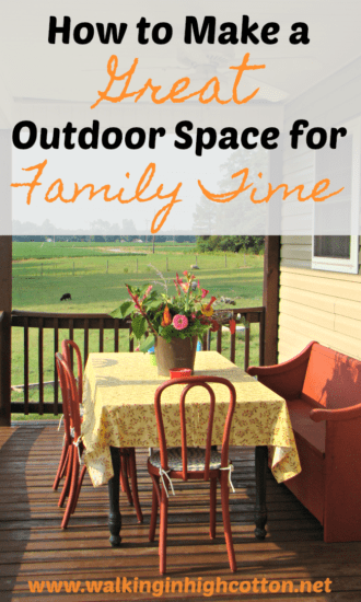 Homestad Blog Hop Feature - how-to-make-a-great-outdoor-space