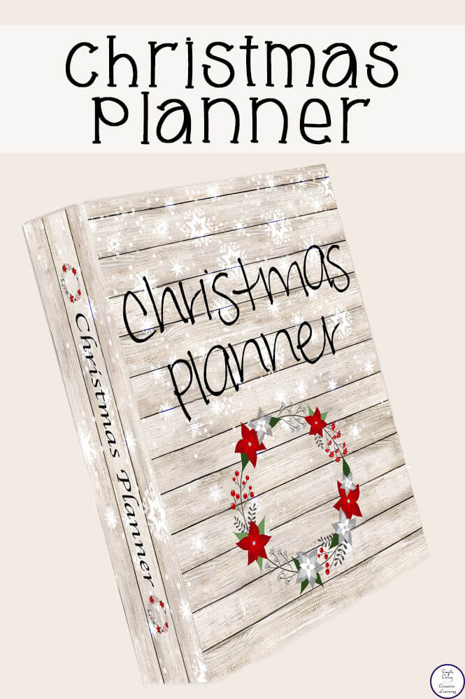 Printable Christmas Planner - Simple Living Creative Learning