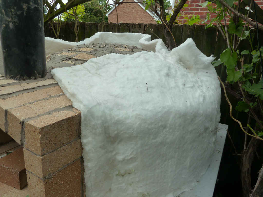 Ceramic Insulation Blanket Insulating Your Pizza Oven With Ceramic Fibre Blanket