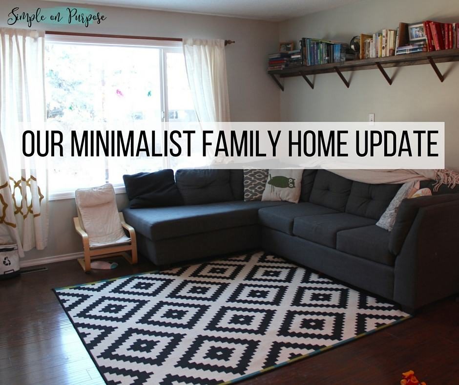 Our 'Minimalist Family' Home Update, a year later