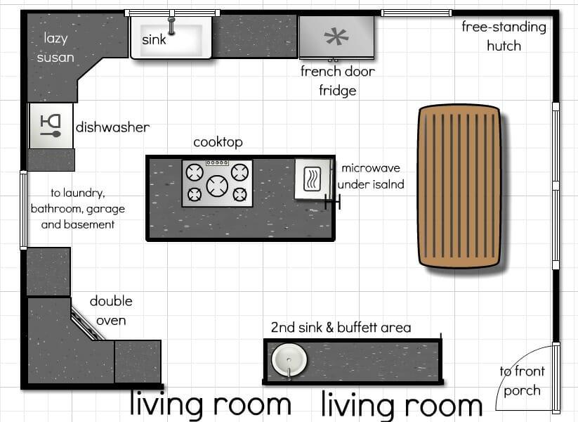kitchen floor plan ideas kitchen design ideas kitchen floor plans kris allen daily