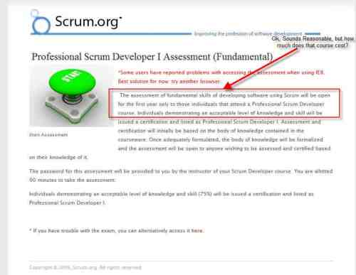 scrum developer Scrum For the Money...